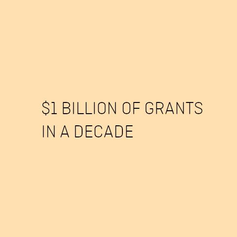 billion of grants